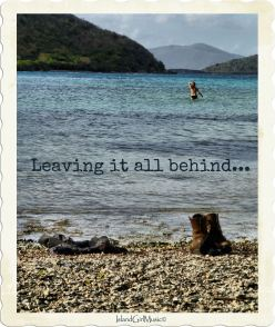 Leaving it all behind